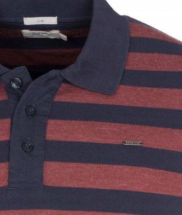 Polo męskie Koszulka Pepe Jeans PolÓwka Bordo M - Ceny i opinie T-shirty i koszulki męskie WKGL