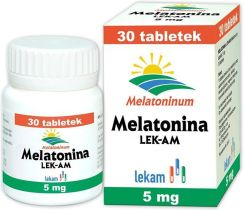 Lek-Am Melatonina 5mg 30 Tabl