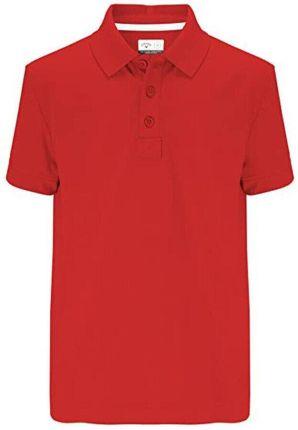 Callaway Youth Solid Polo II Tango Red L Boys - Ceny i opinie T-shirty i koszulki męskie XIZO
