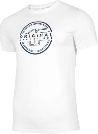 Koszulka T shirt 4F TSM019 biała (H4L21 TSM019 10S) - Ceny i opinie T-shirty i koszulki męskie DAFT