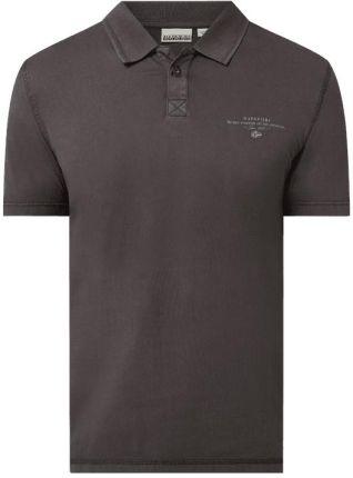 Koszulka polo z bawełny model 'Elli' - Ceny i opinie T-shirty i koszulki męskie OLUM