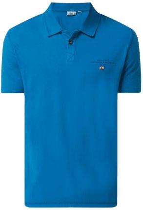 Koszulka polo z bawełny model 'Elli' - Ceny i opinie T-shirty i koszulki męskie MTZJ