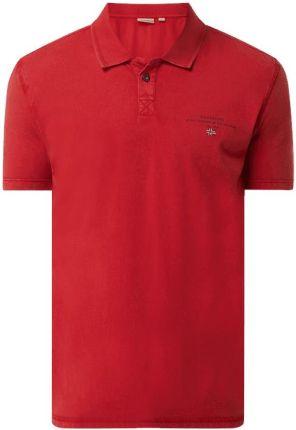 Koszulka polo z bawełny model 'Elli' - Ceny i opinie T-shirty i koszulki męskie TLRL