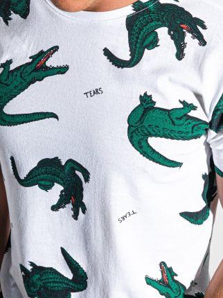 T shirt męski z nadrukiem S1417 biały S - Ceny i opinie T-shirty i koszulki męskie CPFW