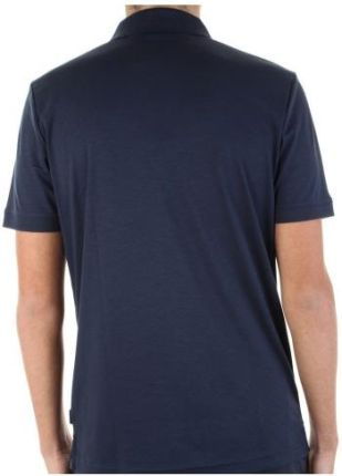 Calvin Klein Polo Męskie Liquid Touch XXL Granatowy - Ceny i opinie T-shirty i koszulki męskie JBIG