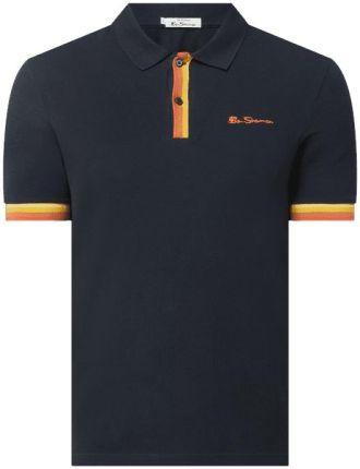 Koszulka polo o kroju regular fit z piki - Ceny i opinie T-shirty i koszulki męskie YGRY