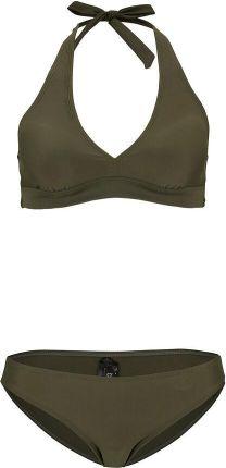 Bikini z ramiączkami wiązanymi na szyi (2 części) , bonprix - Ceny i opinie Stroje kąpielowe XXVN