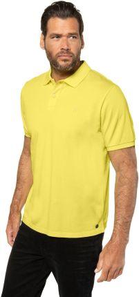 Duże rozmiary Koszulka polo, mężczyzna, żÓłty, rozmiar XL, bawełna, JP1880 - Ceny i opinie T-shirty i koszulki męskie JSPV