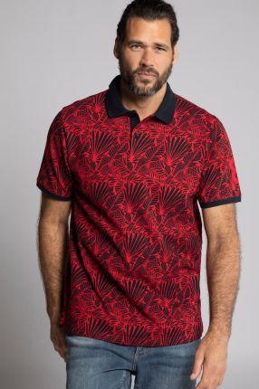Duże rozmiary Koszulka polo, mężczyzna, czerwony, rozmiar 6XL, bawełna, JP1880 - Ceny i opinie T-shirty i koszulki męskie BUWI