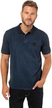 Duże rozmiary Koszulka polo, mężczyzna, niebieski, rozmiar XL, bawełna, JP1880 - Ceny i opinie T-shirty i koszulki męskie RPTO