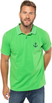 Duże rozmiary Koszulka polo, mężczyzna, zielony, rozmiar XL, bawełna, JP1880 - Ceny i opinie T-shirty i koszulki męskie QFTP