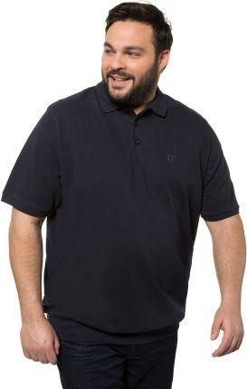 Duże rozmiary Koszulka polo na duży brzuch, mężczyzna, niebieski, rozmiar XXL, bawełna, JP1880 - Ceny i opinie T-shirty i koszulki męskie ZCKA