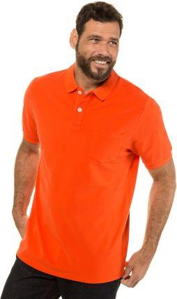 Duże rozmiary Koszulka polo, mężczyzna, pomarańczowy, rozmiar L, bawełna, JP1880 - Ceny i opinie T-shirty i koszulki męskie PCBO