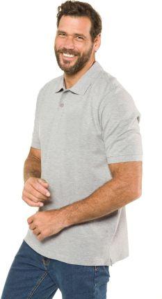 Duże rozmiary Koszulka polo, mężczyzna, szaro, rozmiar L, bawełna wiskoza, JP1880 - Ceny i opinie T-shirty i koszulki męskie IMEZ