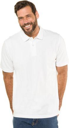 Duże rozmiary Koszulka polo, mężczyzna, biały, rozmiar XL, bawełna, JP1880 - Ceny i opinie T-shirty i koszulki męskie QHQM