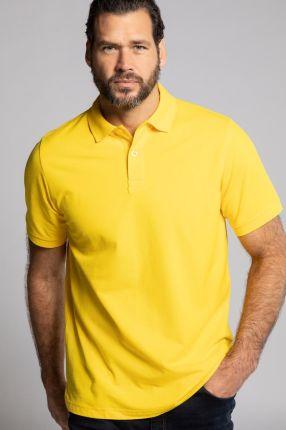 Duże rozmiary Koszulka polo, mężczyzna, żÓłty, rozmiar 7XL, bawełna, JP1880 - Ceny i opinie T-shirty i koszulki męskie MHJV