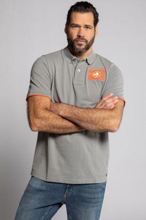 Duże rozmiary Koszulka polo z piki, mężczyzna, szaro, rozmiar L, bawełna, JP1880 - Ceny i opinie T-shirty i koszulki męskie PAZV