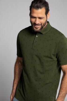 Duże rozmiary Koszulka polo, mężczyzna, zielony, rozmiar XXL, bawełna, JP1880 - Ceny i opinie T-shirty i koszulki męskie VYCB