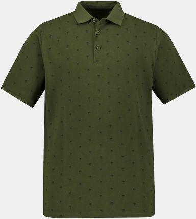 Duże rozmiary Koszulka polo, mężczyzna, zielony, rozmiar 3XL, bawełna, JP1880 - Ceny i opinie T-shirty i koszulki męskie CEIK