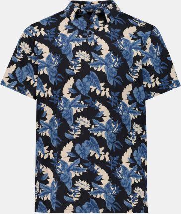 Duże rozmiary Koszulka polo, mężczyzna, niebieski, rozmiar 7XL, bawełna, JP1880 - Ceny i opinie T-shirty i koszulki męskie AZIS