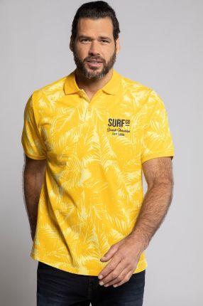 Duże rozmiary Koszulka polo z krÓtkim rękawem, mężczyzna, żÓłty, rozmiar XL, bawełna, JP1880 - Ceny i opinie T-shirty i koszulki męskie IGIX