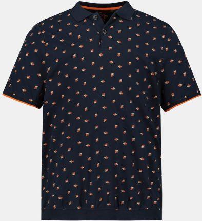 Duże rozmiary Koszulka polo na duży brzuch, mężczyzna, niebieski, rozmiar XXL, bawełna, JP1880 - Ceny i opinie T-shirty i koszulki męskie WUWO