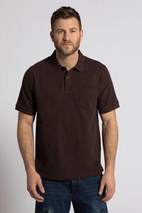 Duże rozmiary Koszulka polo, mężczyzna, brązowy, rozmiar XL, bawełna, JP1880 - Ceny i opinie T-shirty i koszulki męskie FTBE