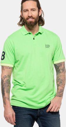 Duże rozmiary Koszulka polo, mężczyzna, zielony, rozmiar 5XL, bawełna, JP1880 - Ceny i opinie T-shirty i koszulki męskie RKKE