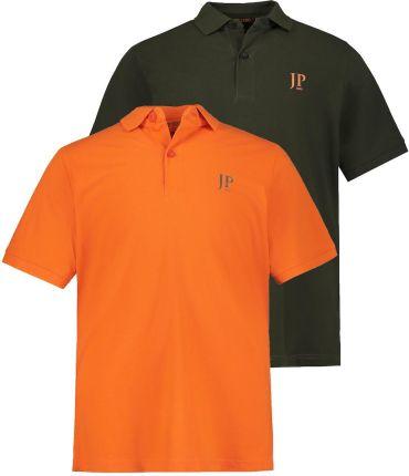 Duże rozmiary Koszulki polo, mężczyzna, pomarańczowy, rozmiar XXL, bawełna, JP1880 - Ceny i opinie T-shirty i koszulki męskie XHPX