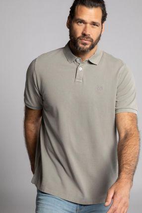 Duże rozmiary Koszulka polo, mężczyzna, szaro, rozmiar XL, bawełna, JP1880 - Ceny i opinie T-shirty i koszulki męskie MCAL