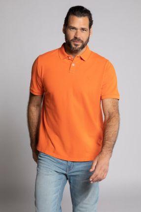 Duże rozmiary Koszulka polo, mężczyzna, pomarańczowy, rozmiar 6XL, bawełna, JP1880 - Ceny i opinie T-shirty i koszulki męskie HPPW