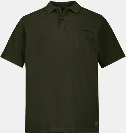 Duże rozmiary Koszulka polo, mężczyzna, zielony, rozmiar 8XL, bawełna, JP1880 - Ceny i opinie T-shirty i koszulki męskie GJSW