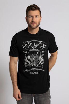 Duże rozmiary T shirt i koszulka polo w dwupaku, mężczyzna, szaro, rozmiar 3XL, bawełna, JP1880 - Ceny i opinie T-shirty i koszulki męskie UZXD