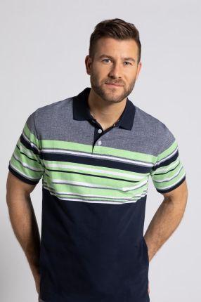 Duże rozmiary Koszulka polo, mężczyzna, niebieski, rozmiar 7XL, bawełna, JP1880 - Ceny i opinie T-shirty i koszulki męskie WVLJ