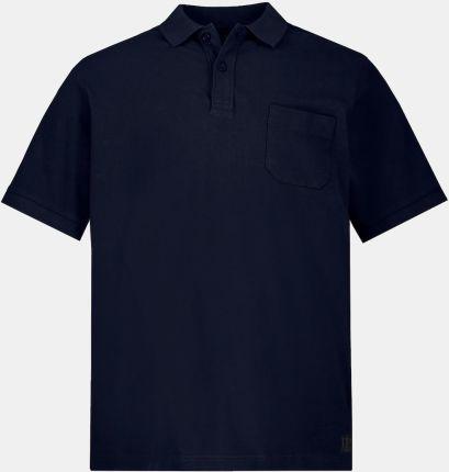 Duże rozmiary Koszulka polo, mężczyzna, niebieski, rozmiar 6XL, bawełna, JP1880 - Ceny i opinie T-shirty i koszulki męskie MHJA