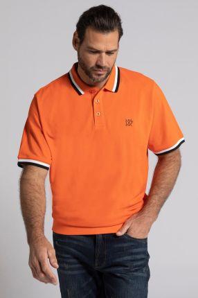 Duże rozmiary Koszulka polo na duży brzuch, mężczyzna, pomarańczowy, rozmiar 7XL, bawełna, JP1880 - Ceny i opinie T-shirty i koszulki męskie PPHI
