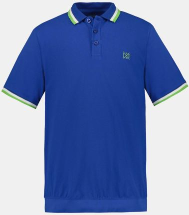 Duże rozmiary Koszulka polo na duży brzuch, mężczyzna, niebieski, rozmiar 6XL, bawełna, JP1880 - Ceny i opinie T-shirty i koszulki męskie NTRX