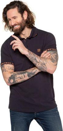 Duże rozmiary Koszulka polo, mężczyzna, niebieski, rozmiar 6XL, bawełna, JP1880 - Ceny i opinie T-shirty i koszulki męskie ACKR