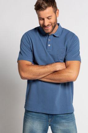 Duże rozmiary Koszulka polo, mężczyzna, niebieski, rozmiar 7XL, bawełna, JP1880 - Ceny i opinie T-shirty i koszulki męskie CHTF