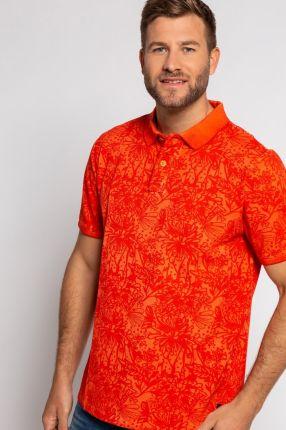 Duże rozmiary Koszulka polo, mężczyzna, pomarańczowy, rozmiar 3XL, bawełna, JP1880 - Ceny i opinie T-shirty i koszulki męskie RVEG