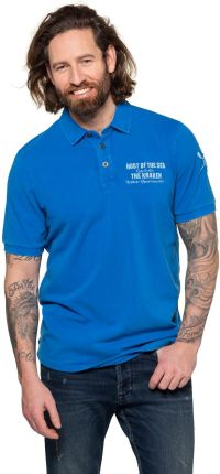 Duże rozmiary Koszulka polo, mężczyzna, niebieski, rozmiar XXL, bawełna, JP1880 - Ceny i opinie T-shirty i koszulki męskie KKHG