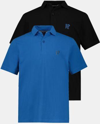 Duże rozmiary Koszulki polo, mężczyzna, niebieski, rozmiar L, bawełna, JP1880 - Ceny i opinie T-shirty i koszulki męskie NZMU