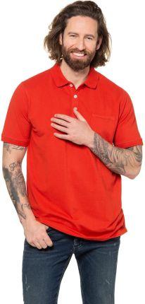 Duże rozmiary Koszulka polo FLEXNAMIC, mężczyzna, czerwony, rozmiar L, bawełna, JP1880 - Ceny i opinie T-shirty i koszulki męskie SAKT