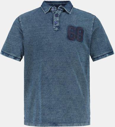 Duże rozmiary Koszulka polo, mężczyzna, niebieski, rozmiar 5XL, bawełna, JP1880 - Ceny i opinie T-shirty i koszulki męskie ZZWS