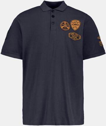 Duże rozmiary Koszulka polo, mężczyzna, niebieski, rozmiar XL, bawełna, JP1880 - Ceny i opinie T-shirty i koszulki męskie KLJV