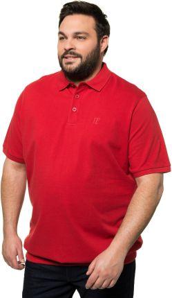 Duże rozmiary Koszulka polo na duży brzuch, mężczyzna, czerwony, rozmiar 7XL, bawełna, JP1880 - Ceny i opinie T-shirty i koszulki męskie ZIMC