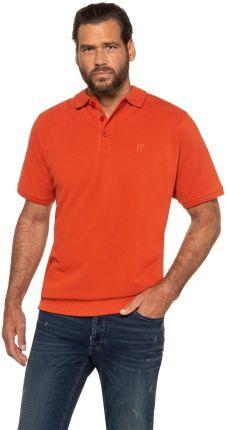 Duże rozmiary Koszulka polo na duży brzuch, mężczyzna, pomarańczowy, rozmiar 4XL, bawełna, JP1880 - Ceny i opinie T-shirty i koszulki męskie AVGJ