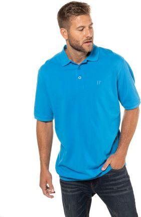Duże rozmiary Koszulka polo na duży brzuch, mężczyzna, turkusowy, rozmiar 8XL, bawełna, JP1880 - Ceny i opinie T-shirty i koszulki męskie RHOP