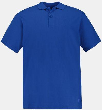 Duże rozmiary Koszulka polo, mężczyzna, niebieski, rozmiar L, bawełna, JP1880 - Ceny i opinie T-shirty i koszulki męskie LLYG