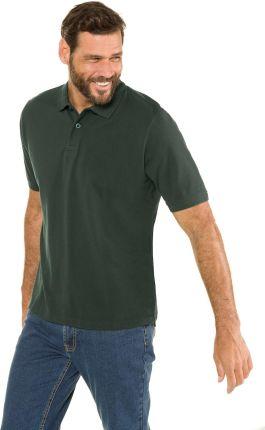 Duże rozmiary Koszulka polo, mężczyzna, zielony, rozmiar 5XL, bawełna, JP1880 - Ceny i opinie T-shirty i koszulki męskie KYOP
